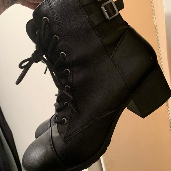 Brash Shoes | Brash Riot Combat Boots